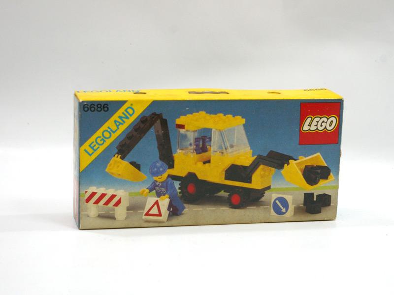 #6686 レゴ ディッガー車