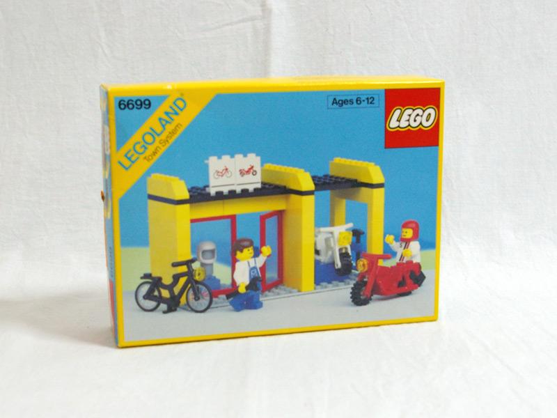 #6699 レゴ バイク屋