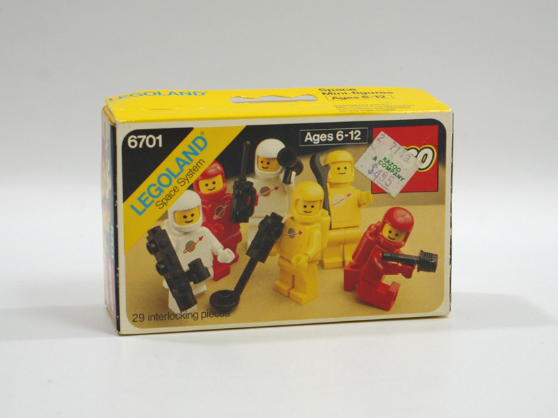 #6701 レゴ 宇宙士セット