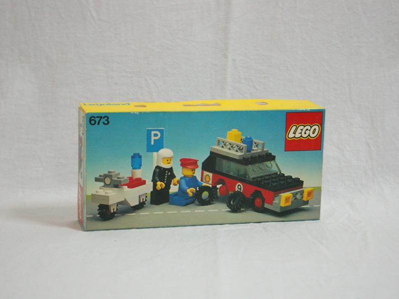 #673 レゴ ラリーカーとクルー