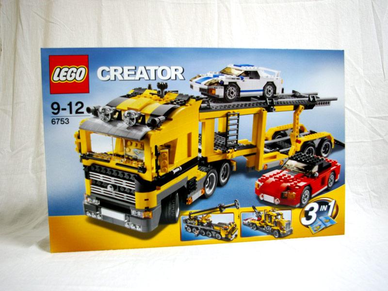 #6753 レゴ ハイウェイキャリアカー