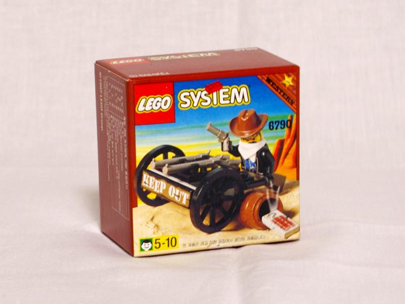 #6790 レゴ 強盗と銃