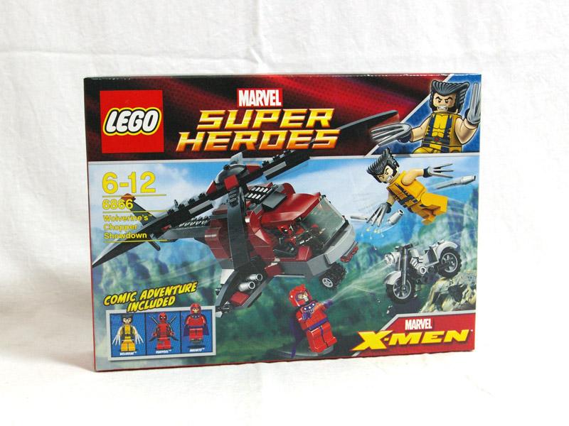#6866 レゴ ウルヴァリンの ヘリ対決