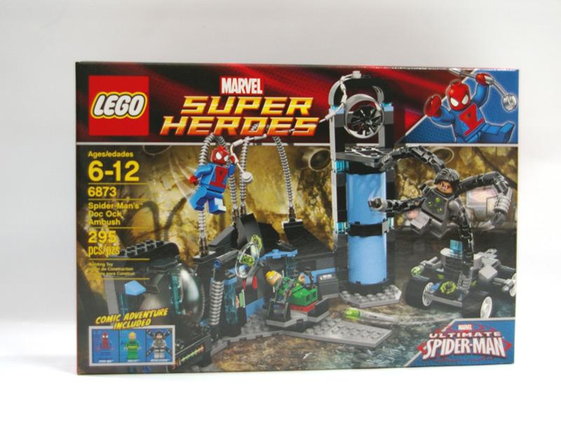 #6873 レゴ スパイダーマンの奇襲攻撃