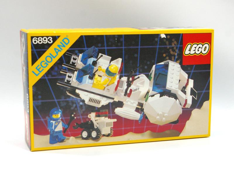 #6893 レゴ 未来都市 2人乗りスペースクラフトとロボット
