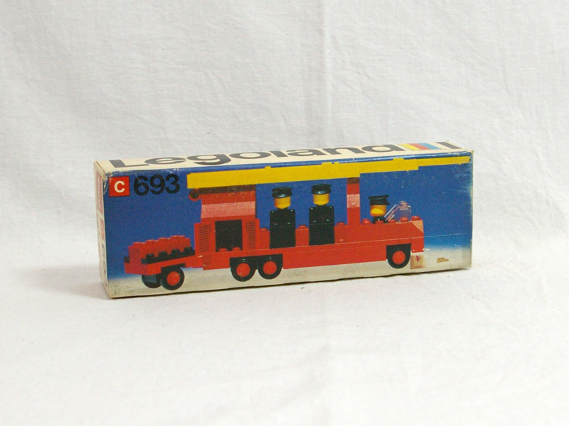 #693 レゴ レゴランド消防車