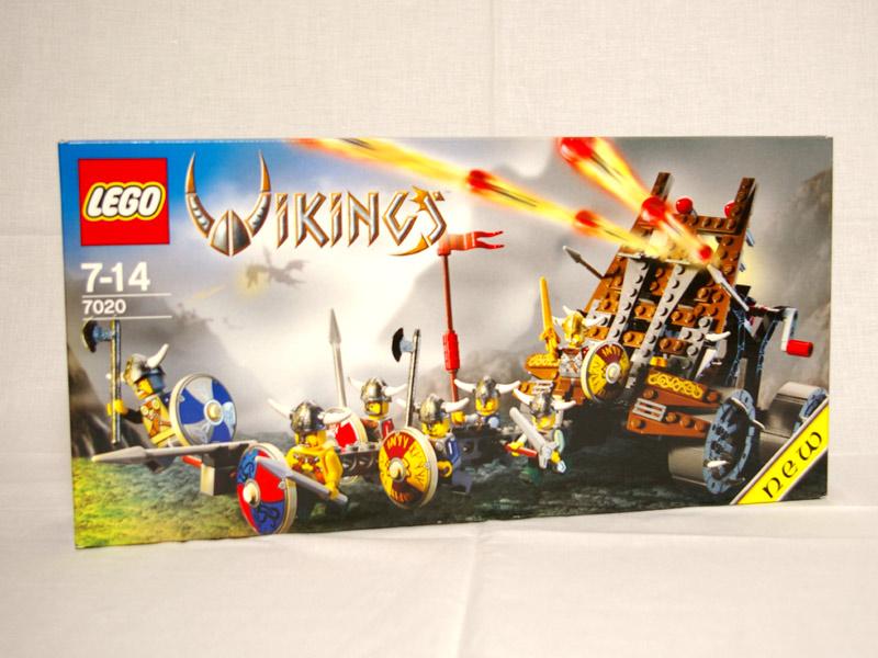 #7020 レゴ バイキング軍の大砲