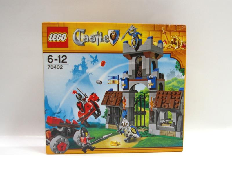 #70402 レゴ ゲートハウスへの侵入
