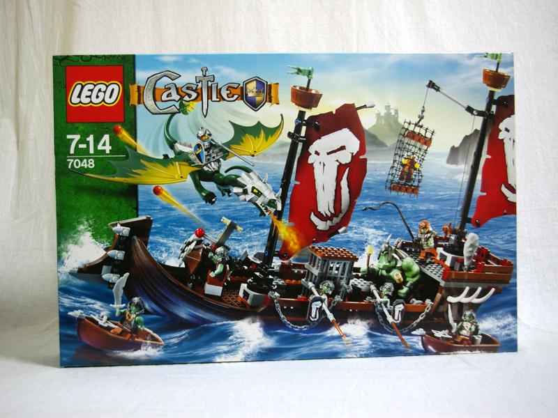 #7048 レゴ  トロール戦艦