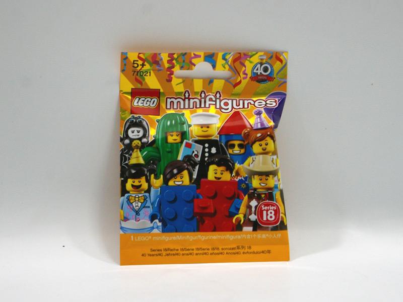 #71021 レゴ ミニフィギュアシリーズ18