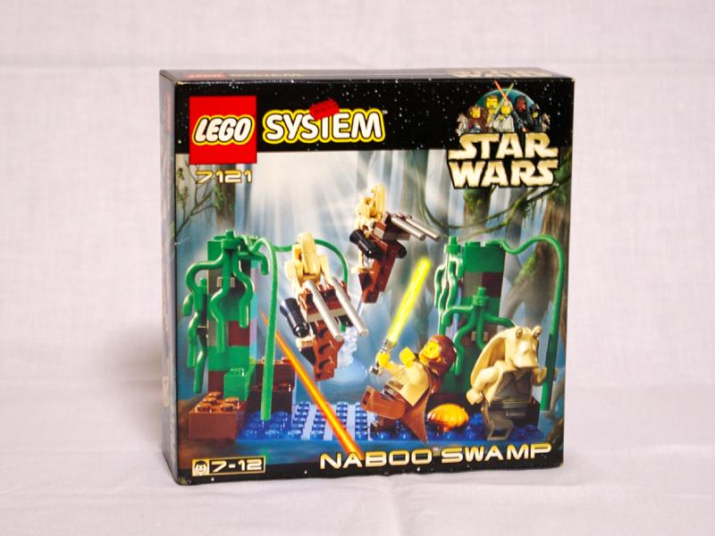 #7121 レゴ ナブースワンプ