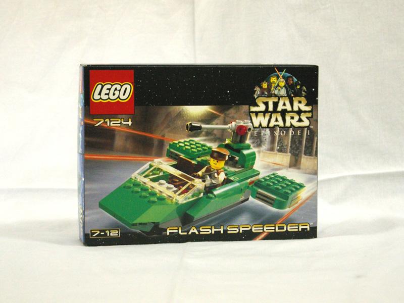 #7124 レゴ フラッシュ・スピーダー