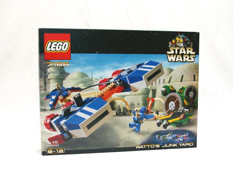 #7186 レゴ ワトーのジャンクヤード
