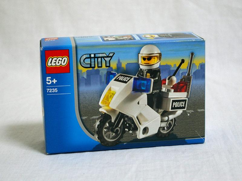 #7235 レゴ 白バイパトロール