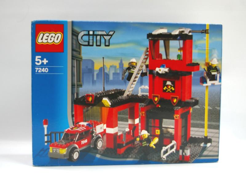 #7240 レゴ 消防署