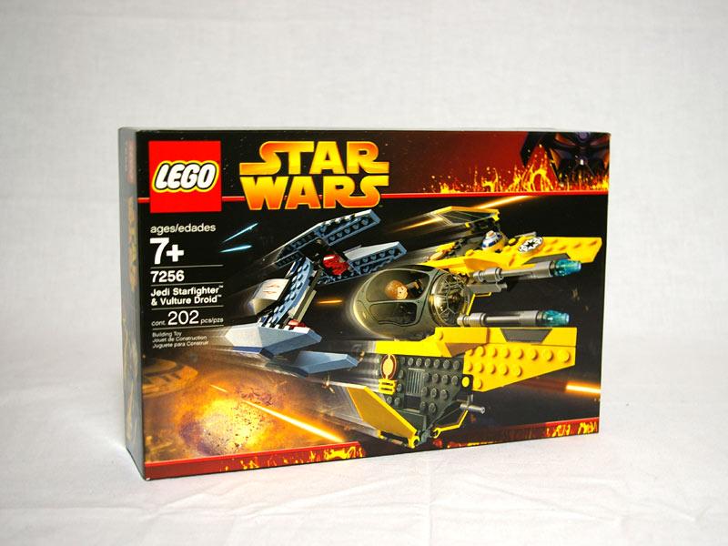 #7256 レゴ ジェダイ・スターファイターとバルチャー・ドロイド