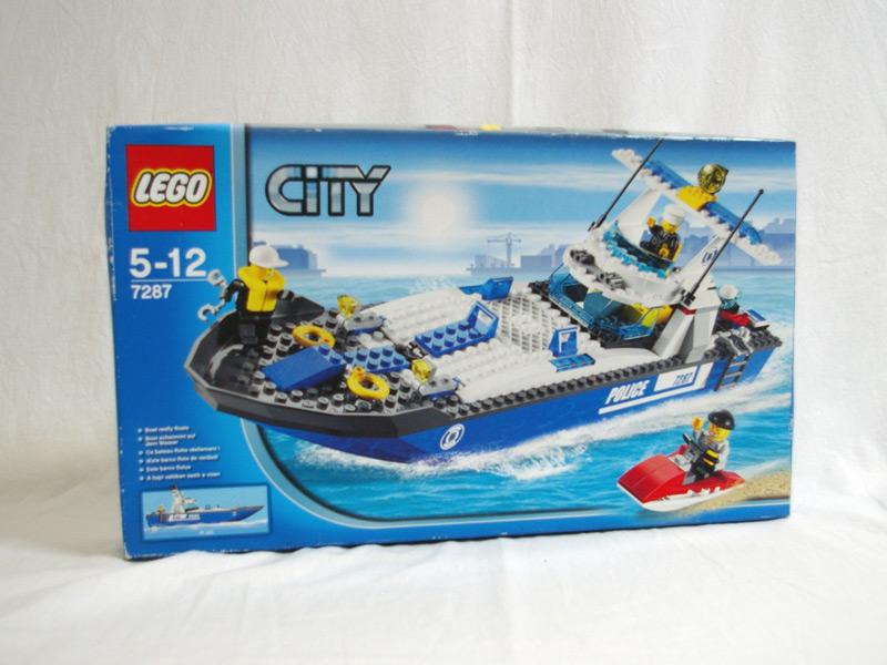 #7287 レゴ ポリススピードボート