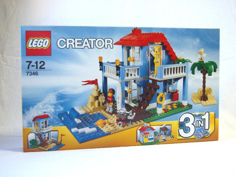 #7346 レゴ シーサイドハウス