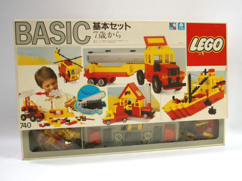 #740 レゴ 7歳からの基本セット