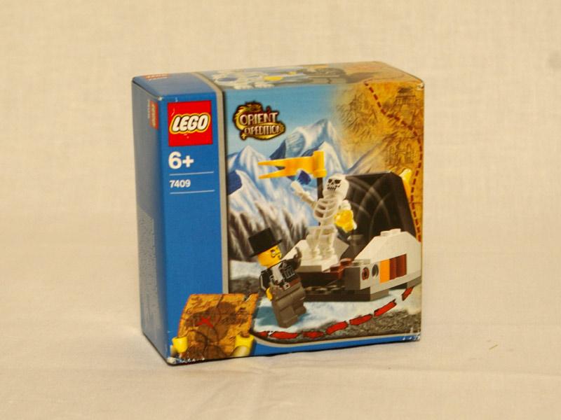 #7409 レゴ 秘密の墓