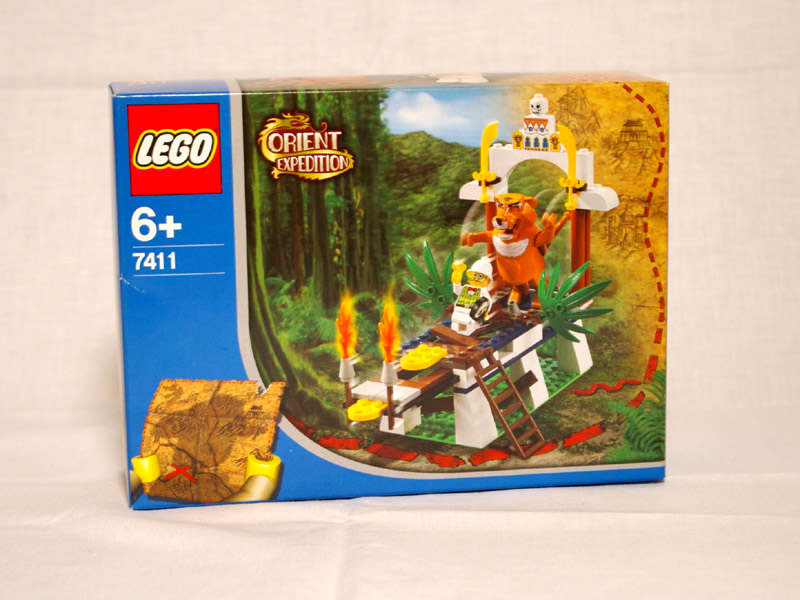 #7411 レゴ 虎の神タイグラーの叫び