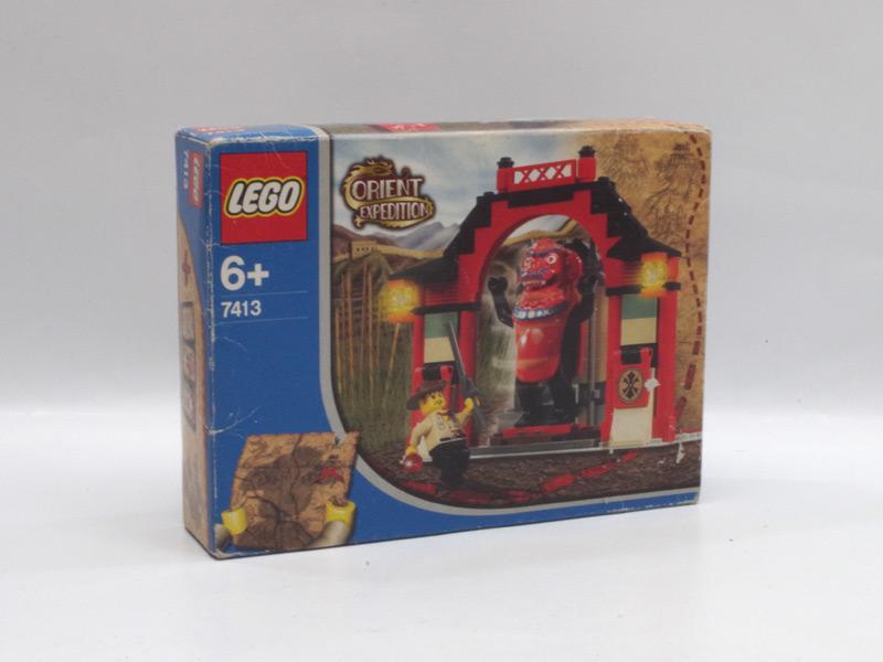 #7413 レゴ 獅子神ジュンチーの回廊