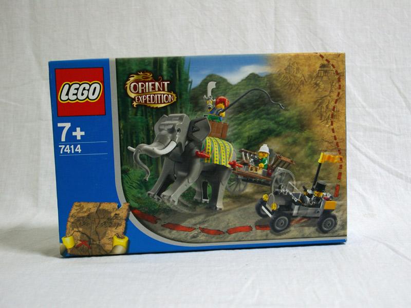 #7414 レゴ 像のキャラバン