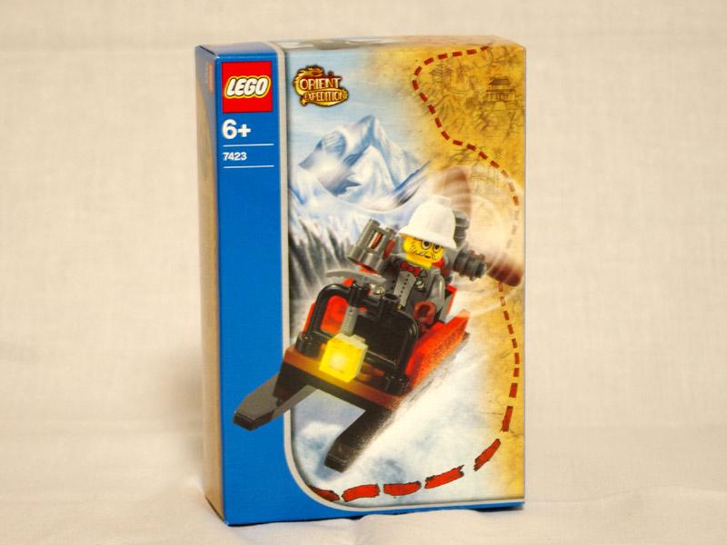 #7423 レゴ 雪山のソリ