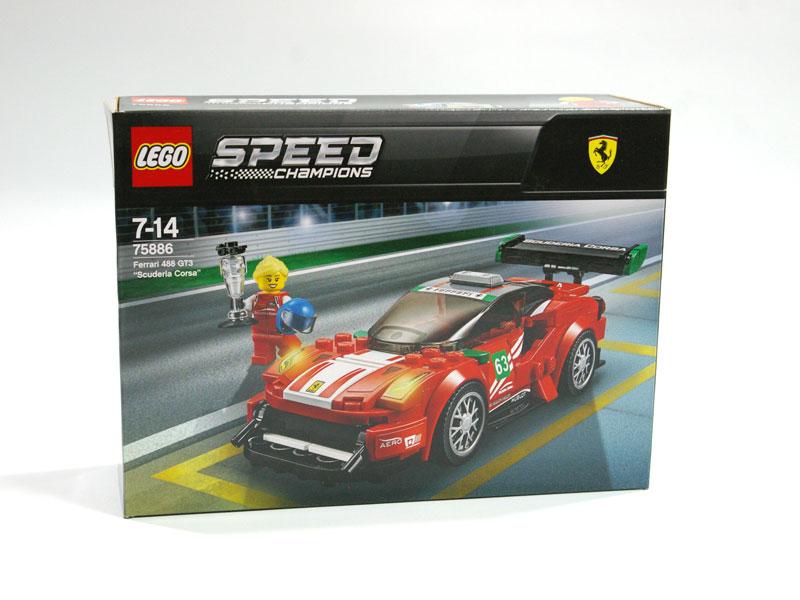 #75886 レゴ フェラーリ 488 GT3 スクーデリア・コルサ
