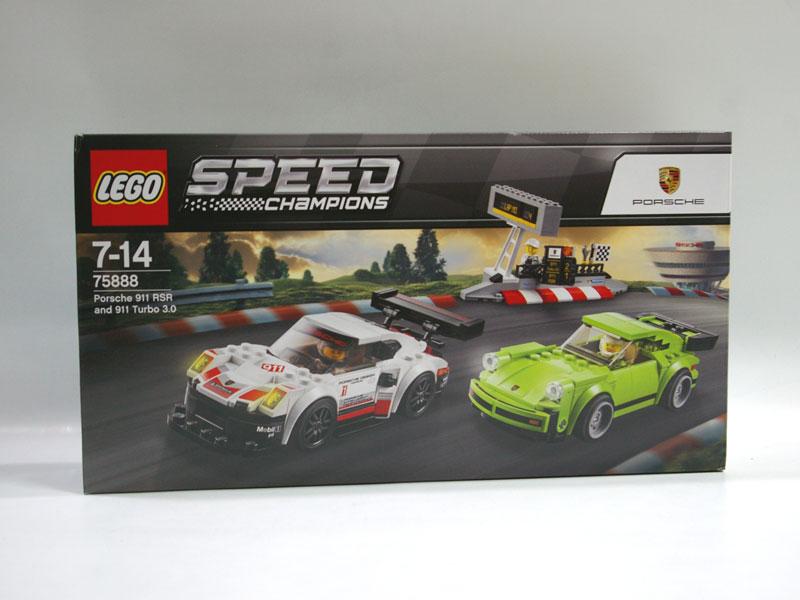 #75888 レゴ ポルシェ 911 RSRと911 ターボ 3.0