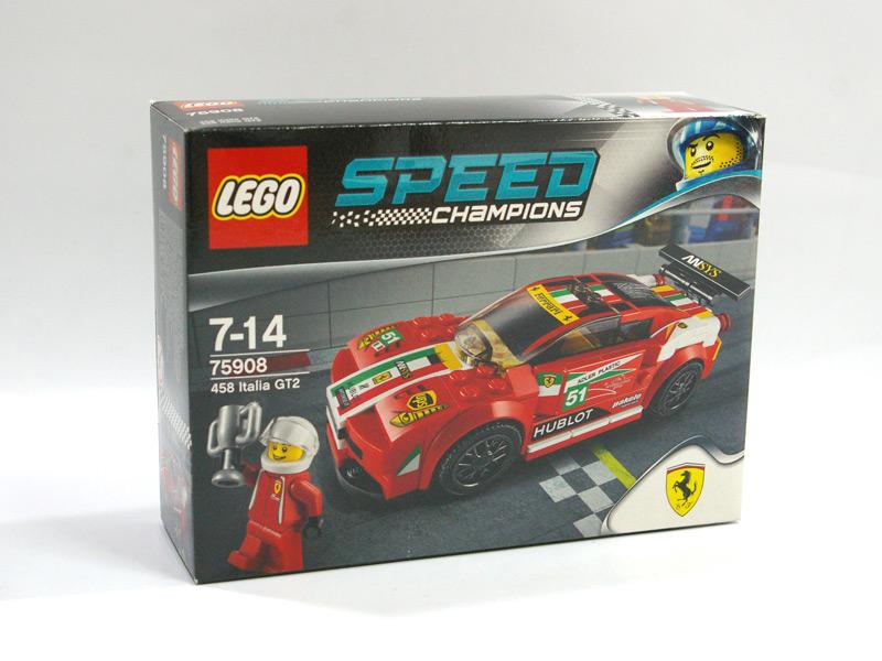 #75908 レゴ フェラーリ458 イタリア GT2