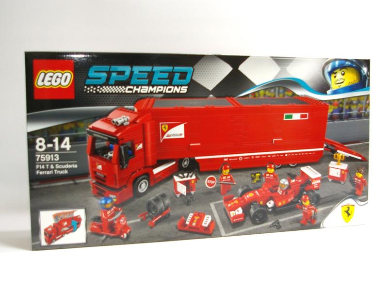#75913 レゴ F14 T&スクーデリア・フェラーリ トラック