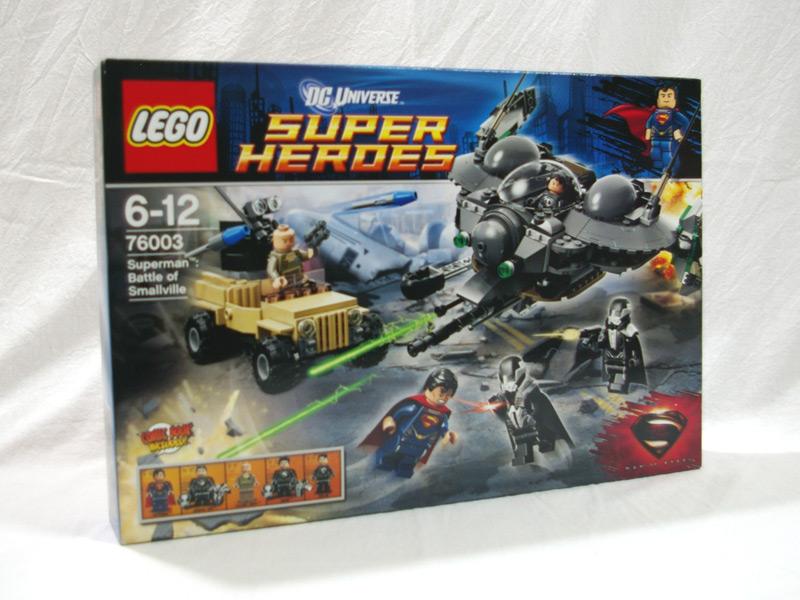 #76003 レゴ スーパマン スモールビルの戦い