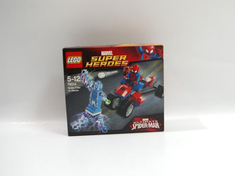 #76014 レゴ スパイダートライク vs. エレクトロ