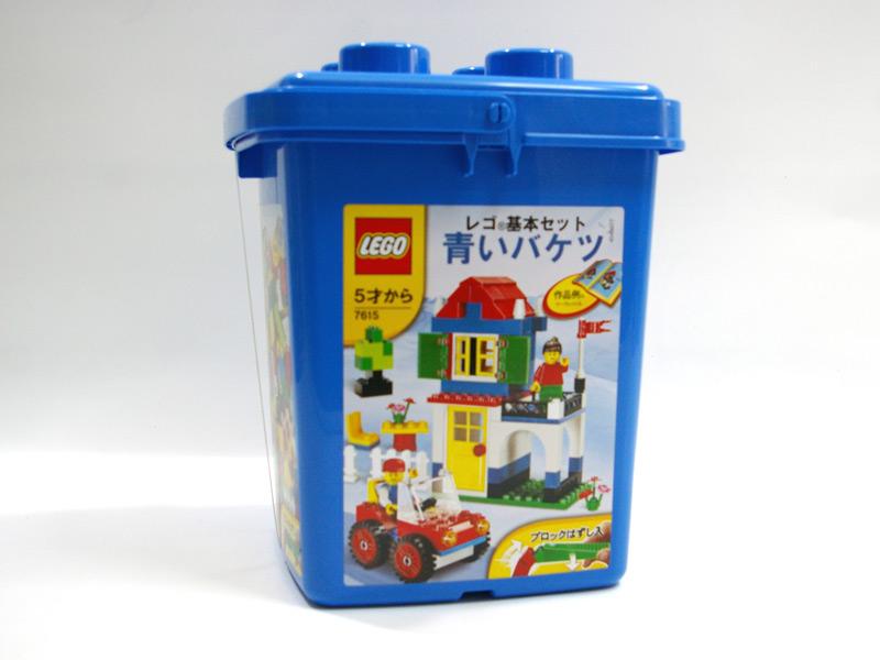 #7615 レゴ 青いバケツ(ブロックはずし付き)