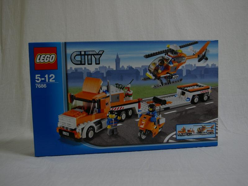 #7686 レゴ ヘリコプター・トランスポーター