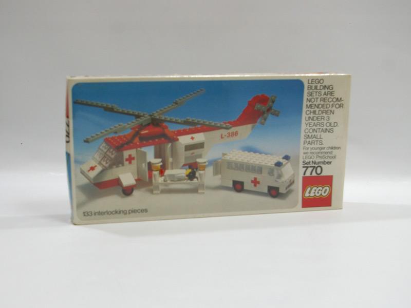#770 レゴ レゴランド救急ヘリコプター