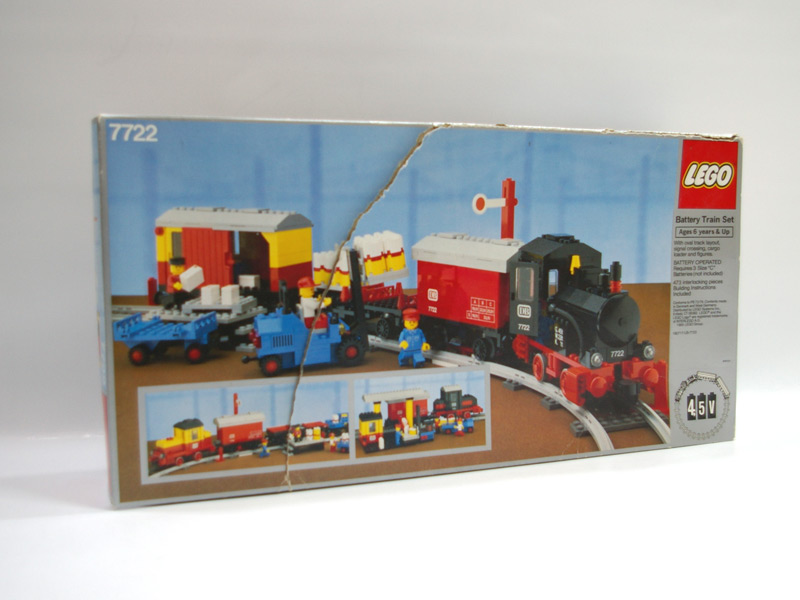 #7722 レゴ モーター付き汽車セット