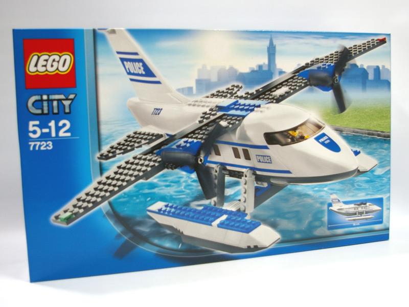 #7723 レゴ 警察水上飛行機