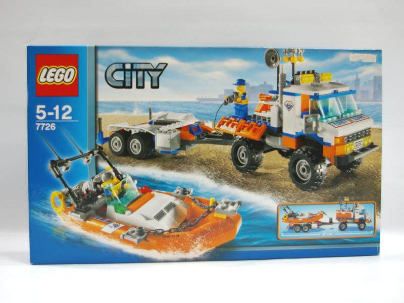 #7726 レゴ トラックとスピードボート