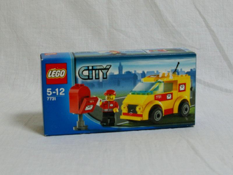 #7731 レゴ 郵便トラック