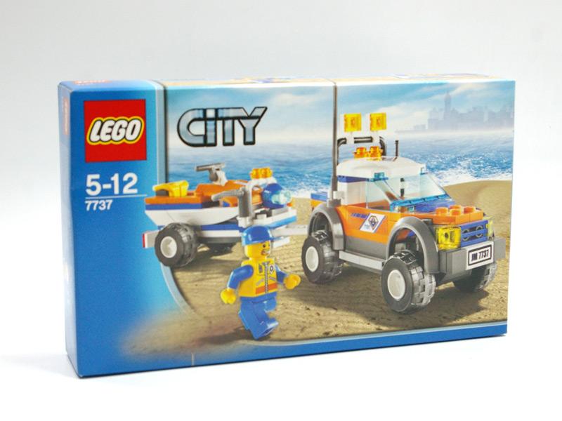 #7737 レゴ 4WDトラックとジェットスクーター