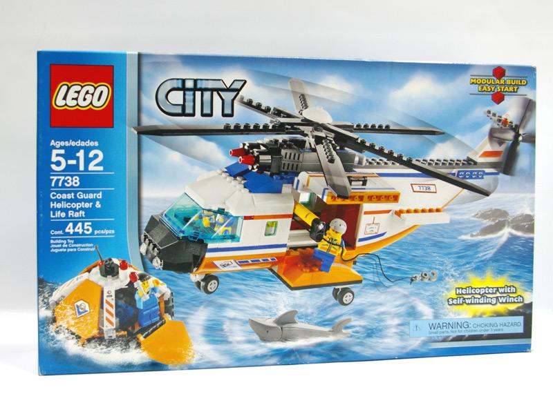 #7738 レゴ ヘリコプターと救命ボート