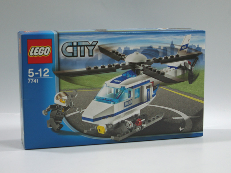 #7741 レゴ 警察ヘリコプター