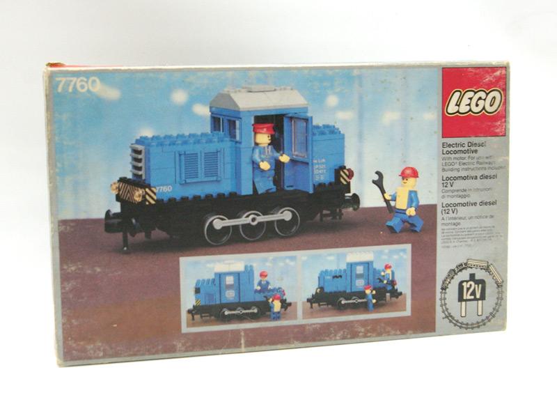 #7760 レゴ ディーゼル機関車