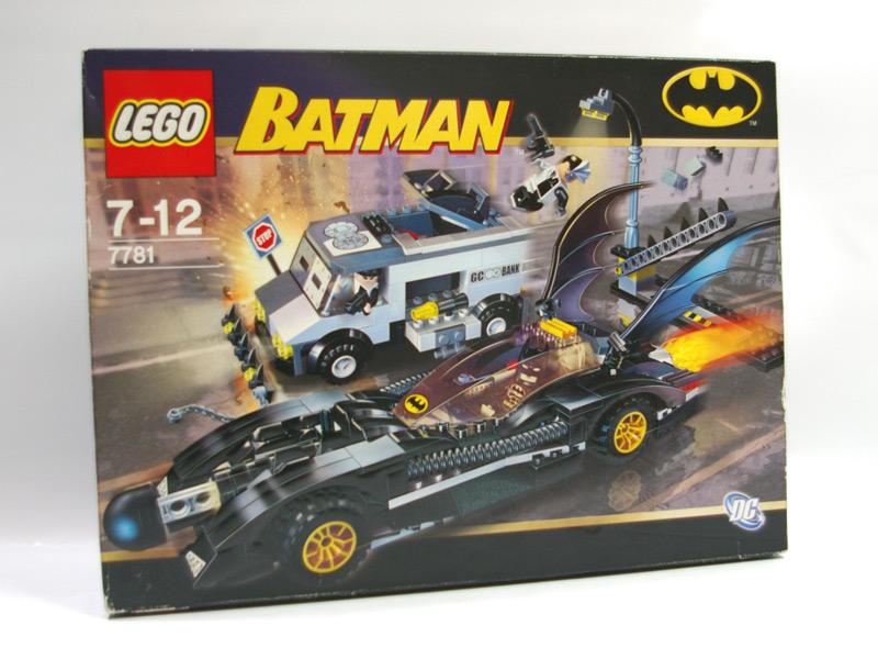 #7781 レゴ バットモービル ツーフェイスの逃亡