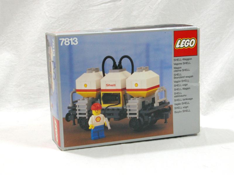 #7813 レゴ シェルタンカーワゴン
