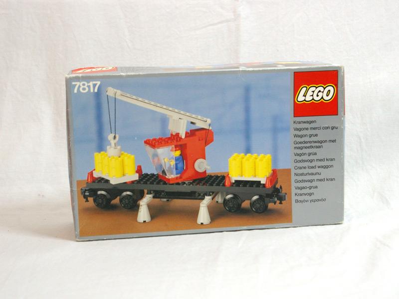 #7817 レゴ クレーン車