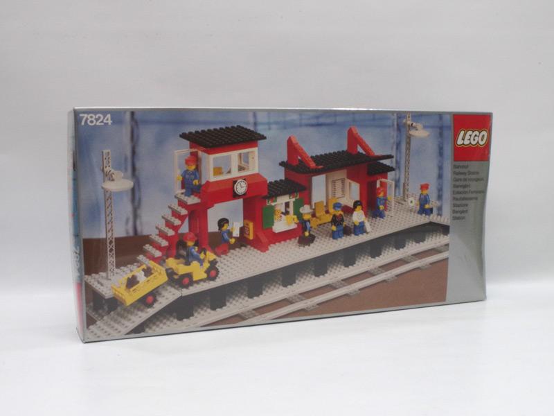 #7824 レゴ 駅舎