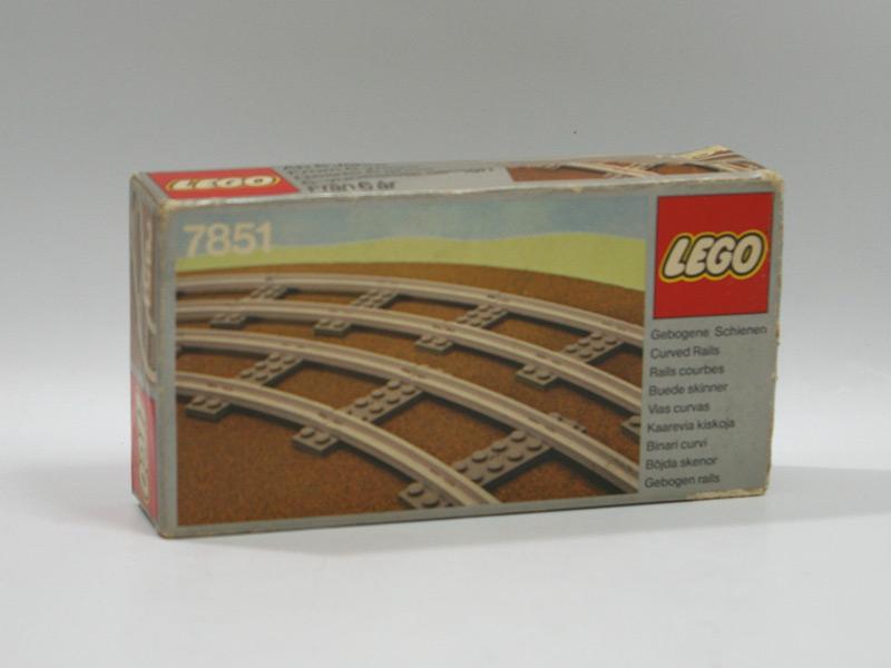 #7851 レゴ 曲線レール
